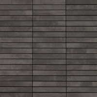 CEMENTI negro   mosaic   30x30   2x10   01S   natural   rekt   R9