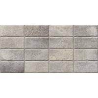 PORTOBELLO brick silver | decor | 33x67 | 01S