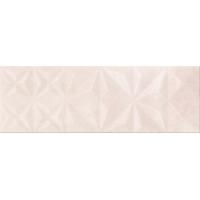GEOMETRIC GAME beige prism glossy | decor | 25x75 | 01S