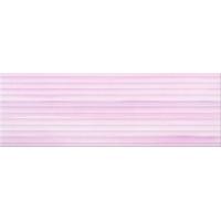 ELEGANT STRIPES violet glossy structured | decor | 25x75 | 01S